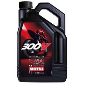MOTUL 300V 4T FACTORY LINE 15W50 4L