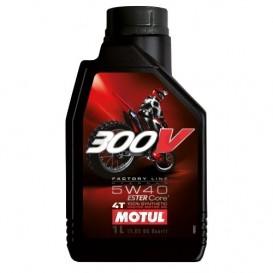 MOTUL 300V FACTORY LINE OFFROAD 5W40 1l